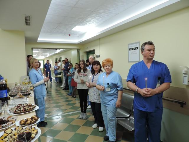 Освещаване на УНГ отделението, което вече се намира в сектор