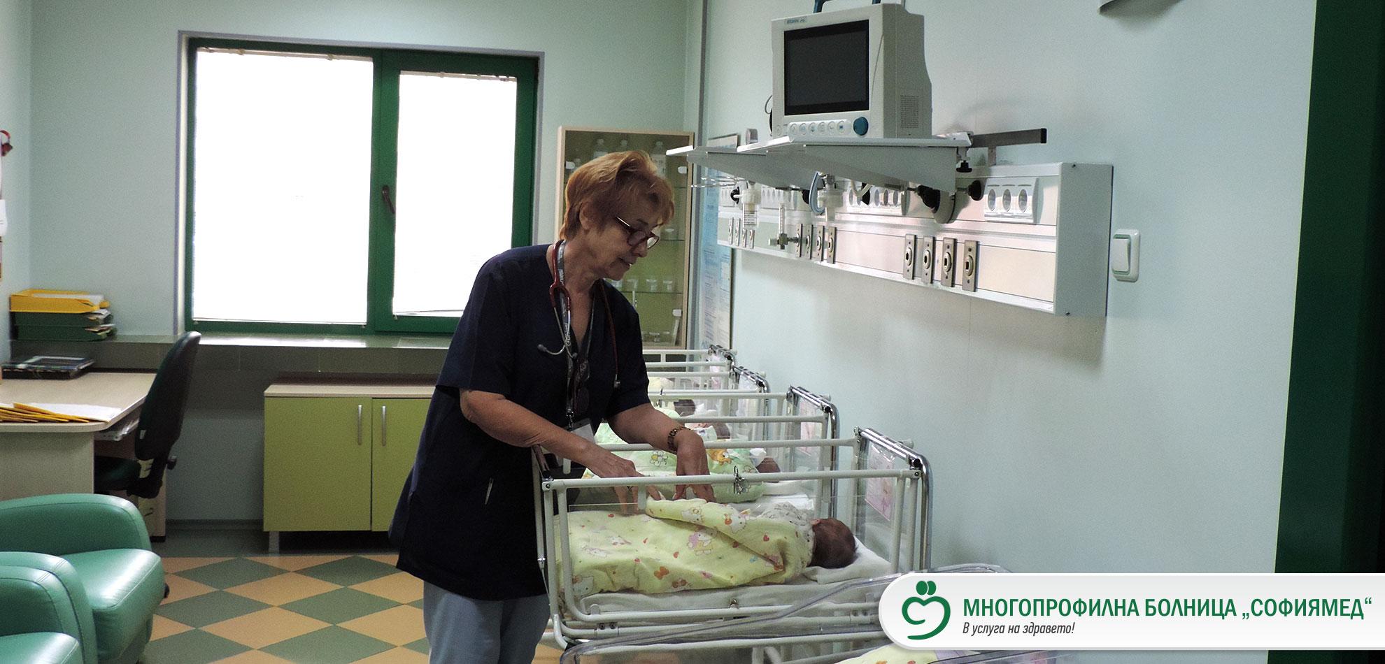 """Седем бебета се родиха в дните на Коледа в УМБАЛ """"Софиямед"""""""