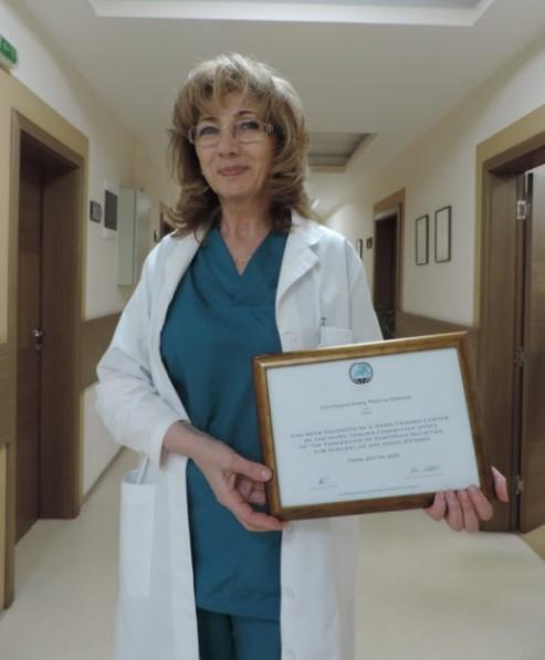 """""""Софиямед"""" със сертификат за център за хирургия на ръка"""