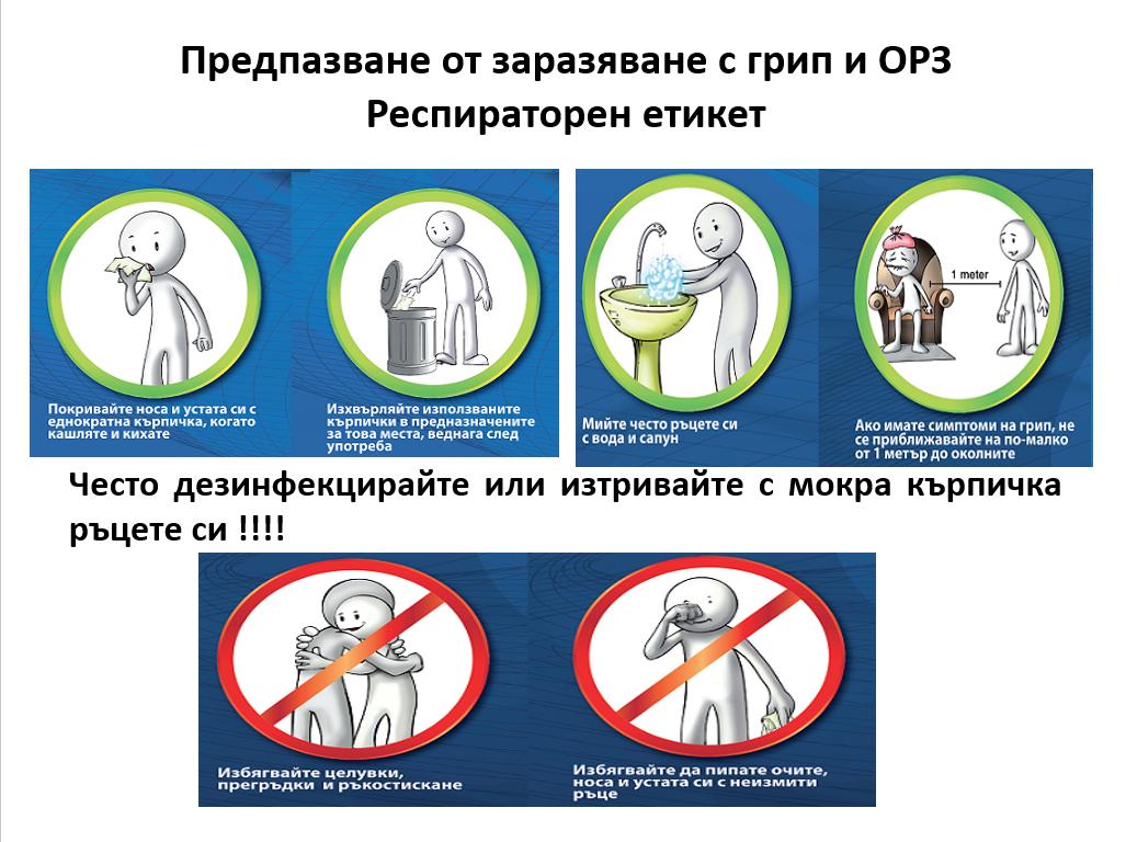 Съвети при съмнение за грипна инфекция