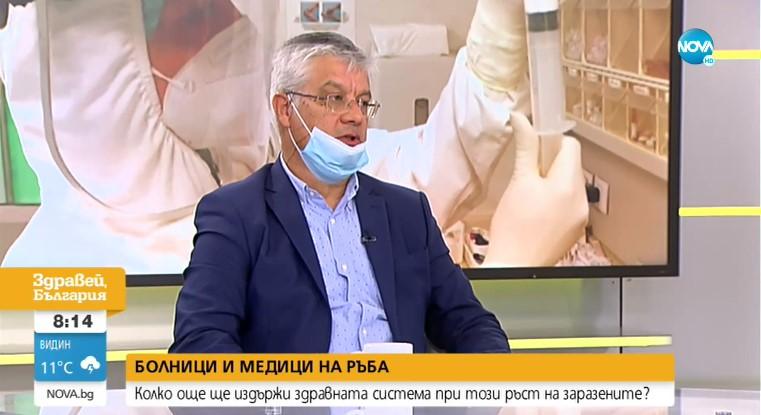 Д-р Колчаков: Българската здравна система се справя на средноевропейско ниво