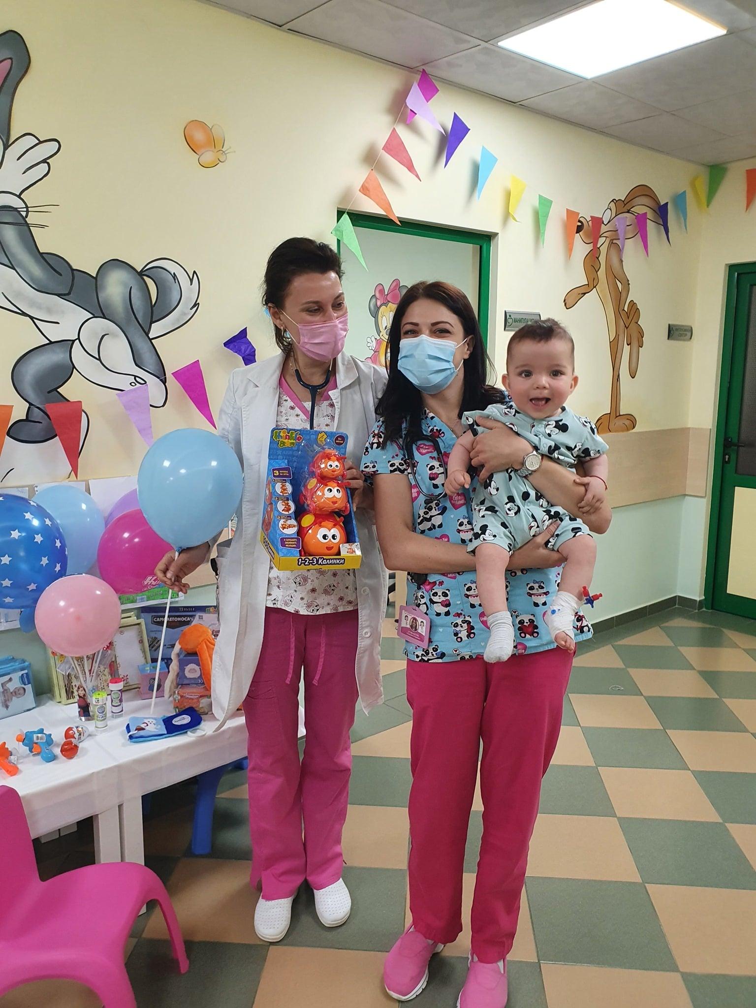 1 юни в Софиямед! Честит празник, мили деца!