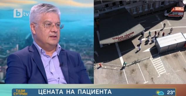 Д-р Колчаков: Българското здравеопазване няма ресурси и няма как да работи