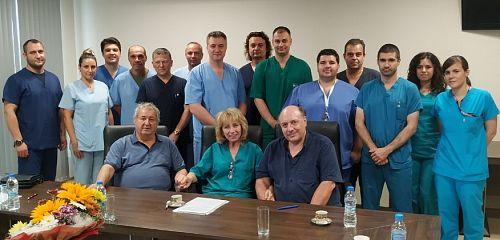 """Отделението по Хирургия на ръка и реконструктивна хирургия в УБМАЛ """"Софиямед"""" се превърна  в хъб за обучение на хирурзи от цялата страна"""