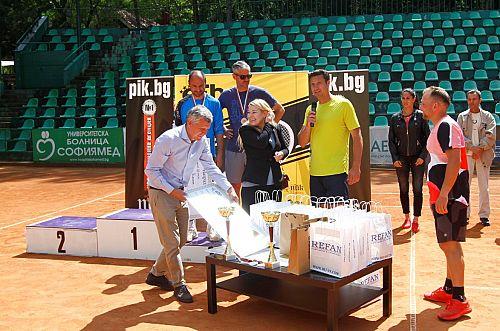 УМБАЛ Софиямед е партньор на благотворителния Тенис турнир PIK MASTERS