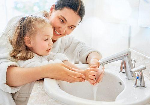 Съвети как децата да мият ръцете си